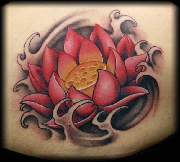 39 Awesome Lotus Tattoo Designs