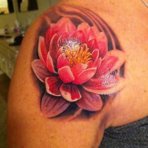 Lotus Tattoo Shoulder: 39+ Lotus Tattoos On Shoulder