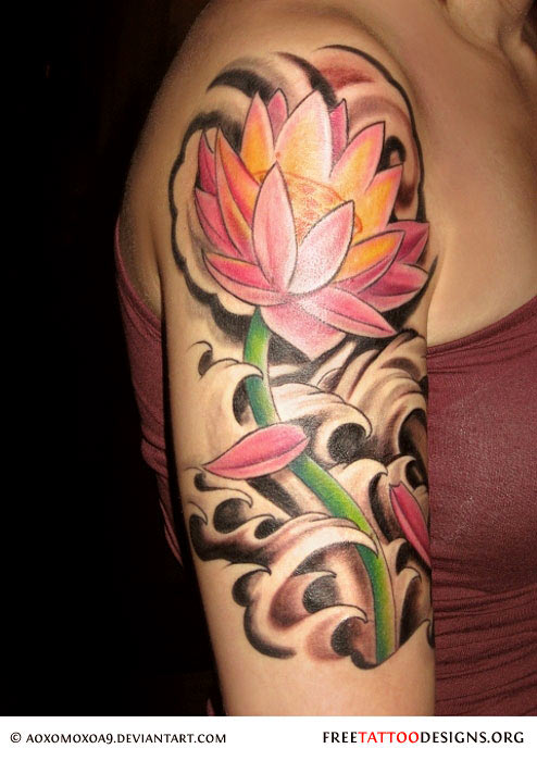14 small lotus tattoos ideas for Pink ink tattoo