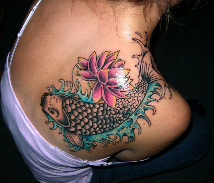 45+ Lotus Tattoos For Female