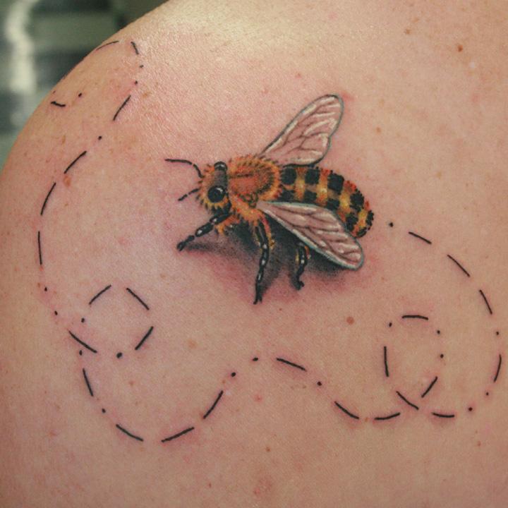 60 beautiful bumblebee tattoos ideas. Black Bedroom Furniture Sets. Home Design Ideas