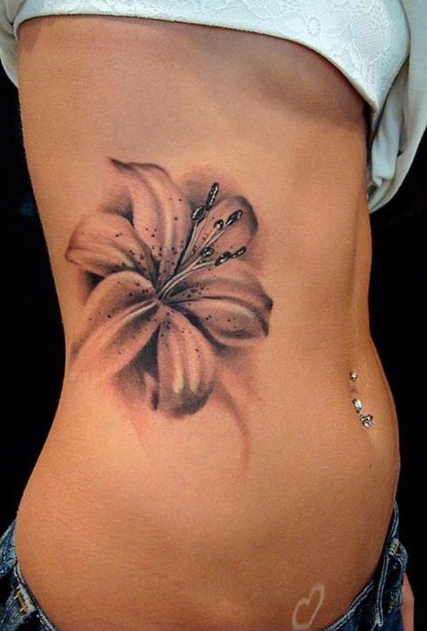 Tattoo lilly