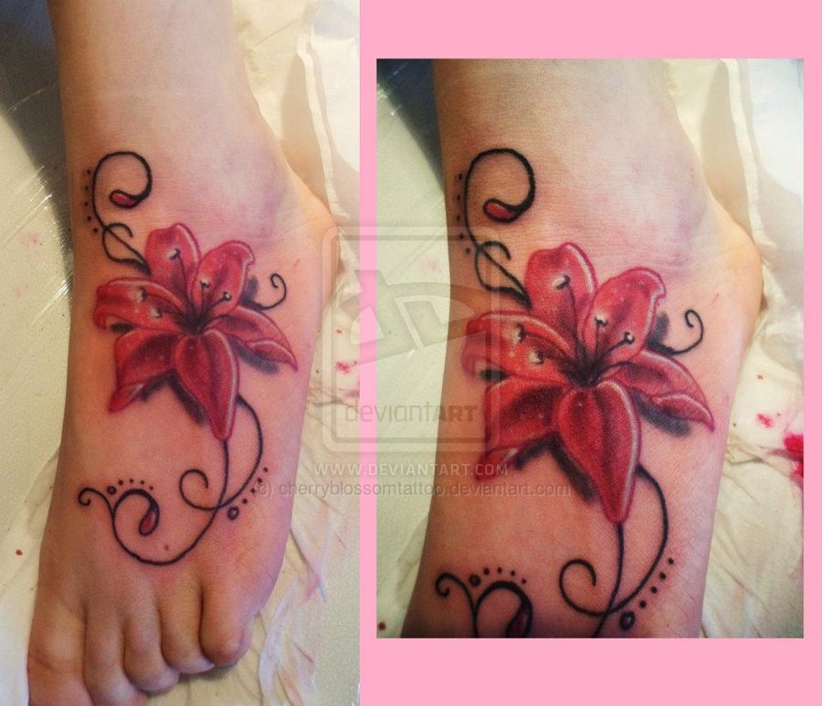 Foot Tattoos - Askideas.com