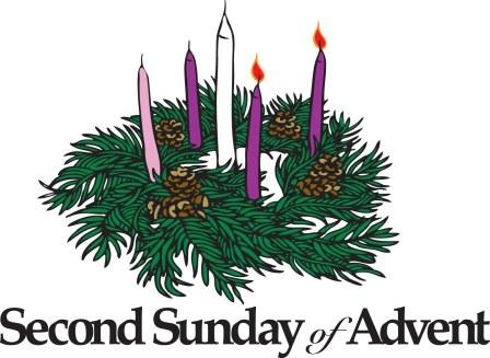 Advent peace. Second sunday of clipart