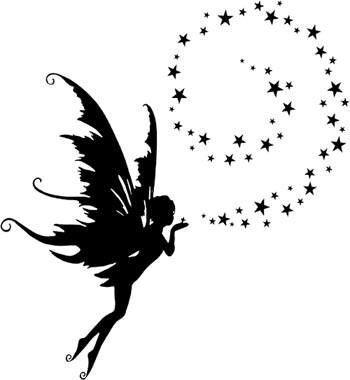 37+ Fairy With Fairy Dust Tattoos
