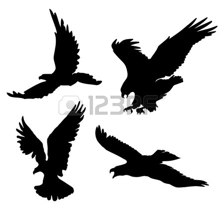 28 flying eagle tattoos designs rh askideas com Tribal Eagle Tattoo Silhouette Tattoos for Men