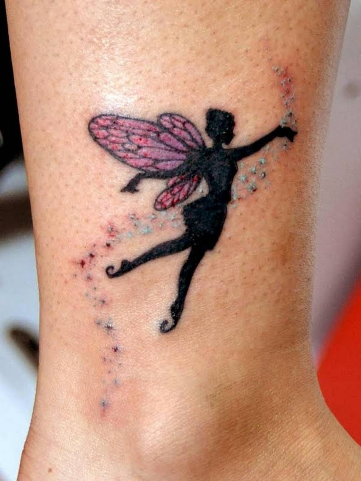 24 fairy tattoos on ankle. Black Bedroom Furniture Sets. Home Design Ideas