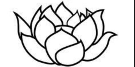 37 outline lotus tattoos collection simple black outline lotus tattoo design mightylinksfo Gallery