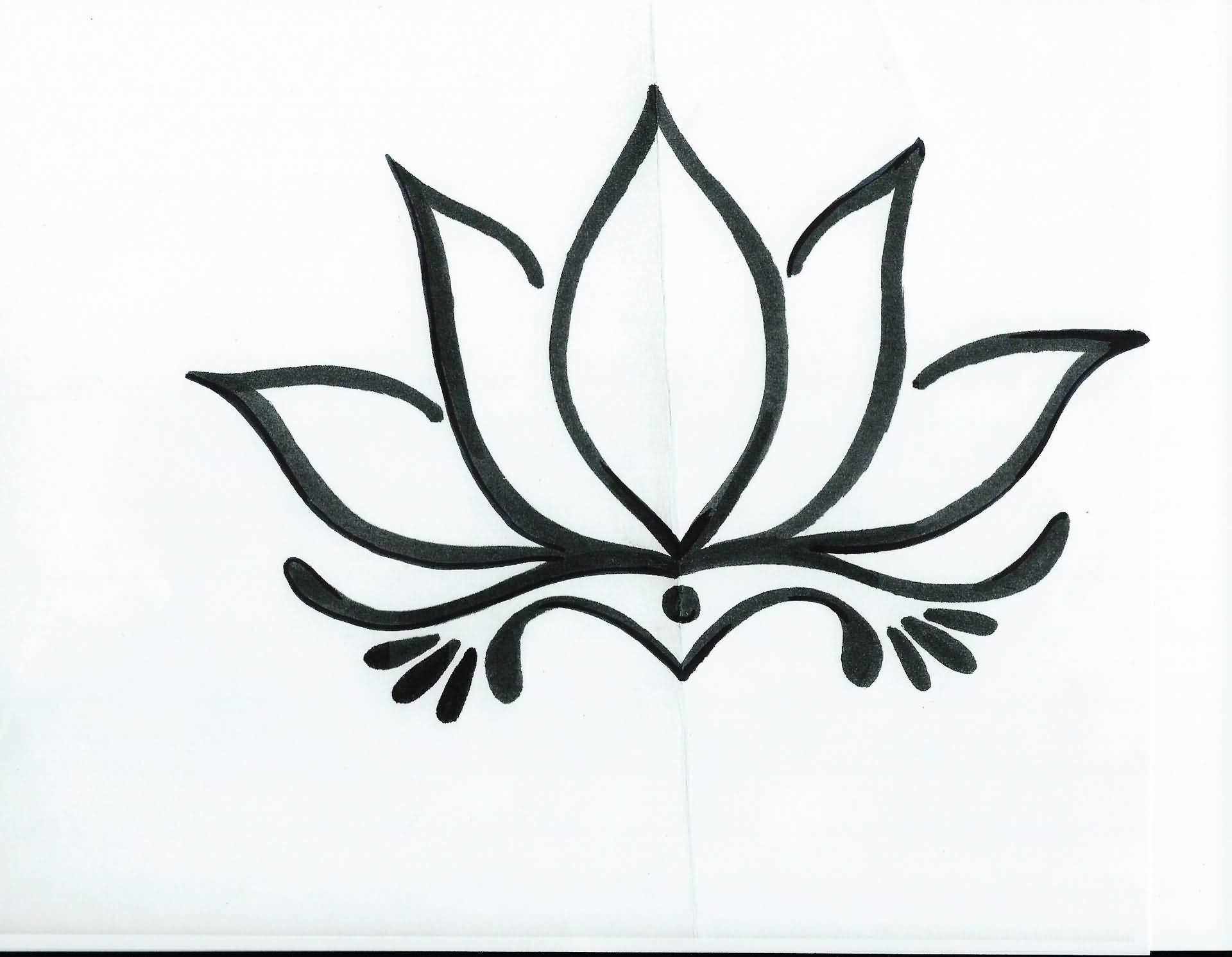 18+ Simple Lotus Tattoos Pictures