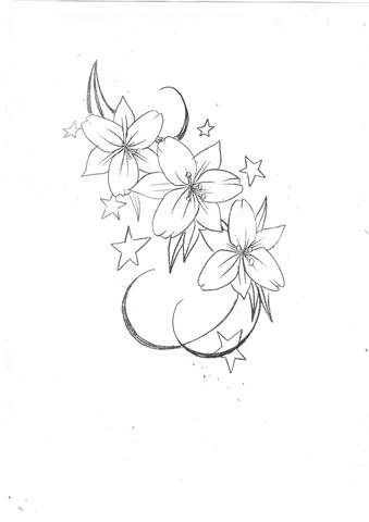 Lily Flowers Tattoo Outlines Flowers Healthy