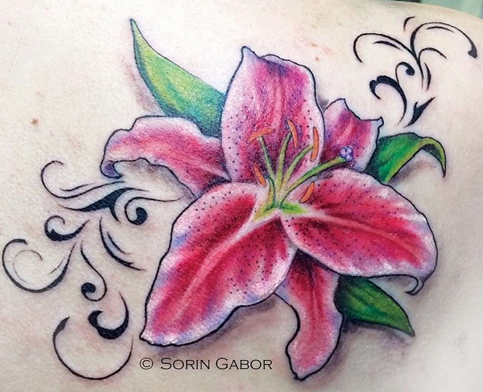 64 Stargazer Lily Tattoos Ideas