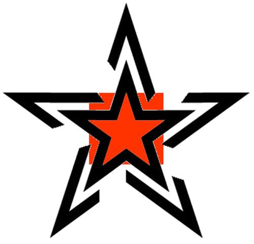 Stylish star tattoo design urmus Gallery