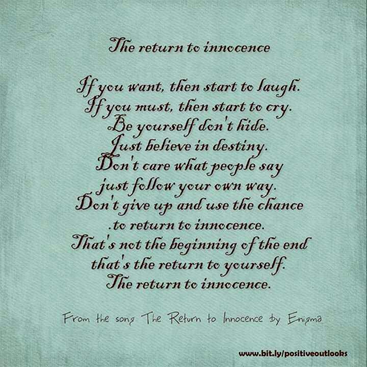 61 Most Amazing Innocence Quotes And Sayings