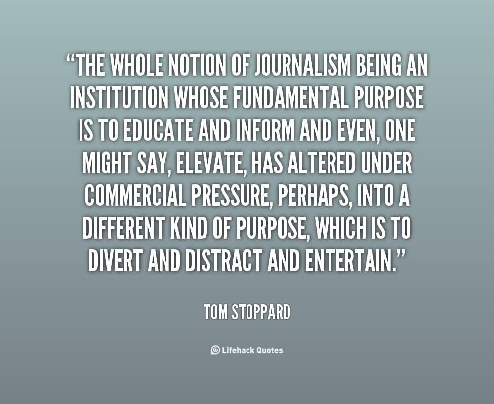 become a good journalist and a Balance is not good journalism our goal is to be fair and accurate if balance  requires treating a horrible liar with the same weight as one of the.