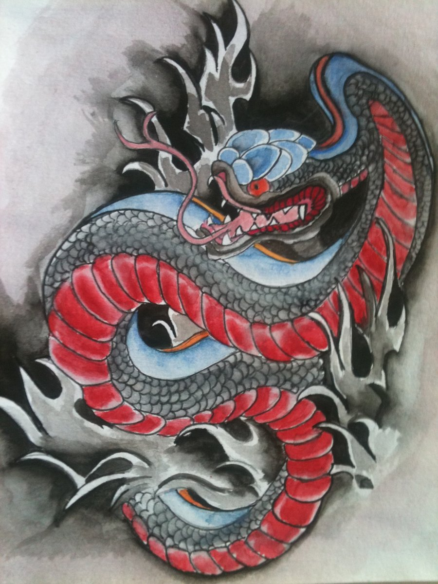 42 japanese snake tattoos collectiontraditional japanese snake tattoo design