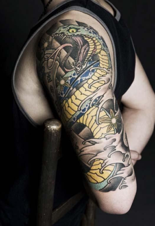 46 cobra snake tattoos collection. Black Bedroom Furniture Sets. Home Design Ideas
