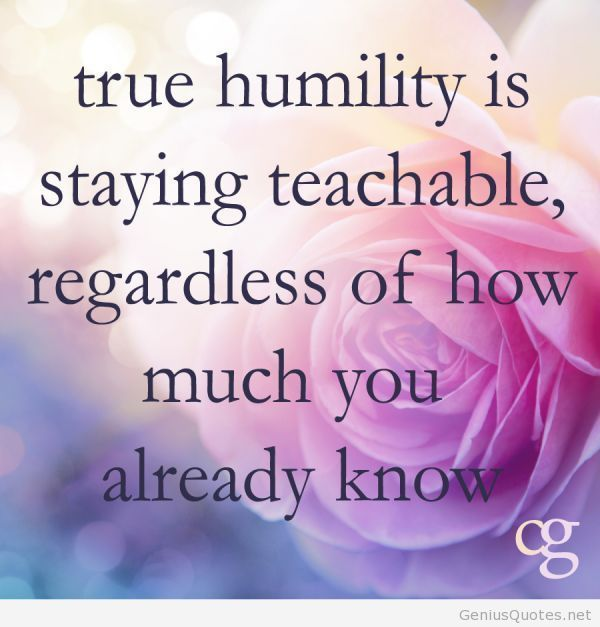 humility speech Sure, you should take credit when credit is due, but a dose of humility is important  for long-term success by lorna collier july/august 2016, vol 47, no 7.