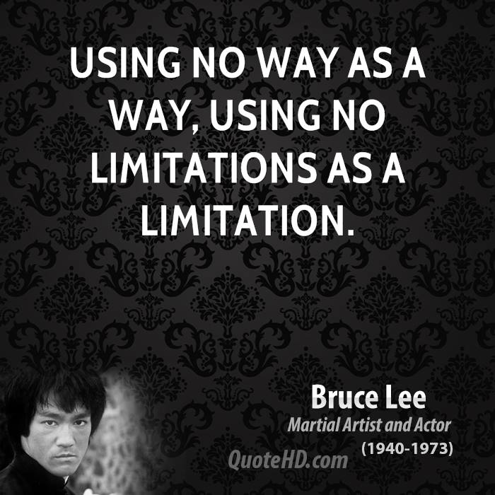 Bruce Lee Limit Quote Daily Inspiration Quotes