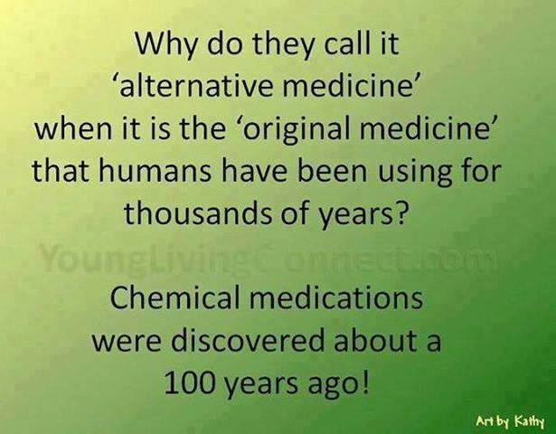 chemical medications or natural healing Alternative medicine is an approach to the treatment and prevention of  impact  on physico-chemical and biochemical processes in the body using static.