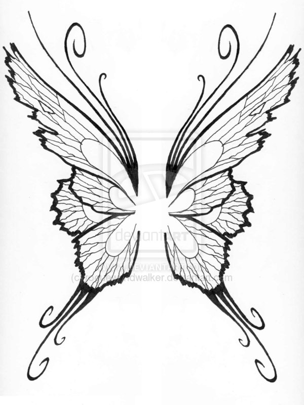 54 Fairy Wings Tattoos Ideas