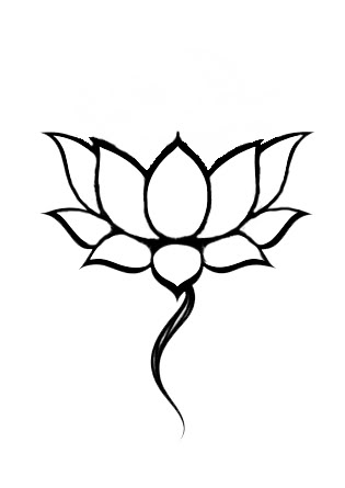 37 Outline Lotus Tattoos Collection