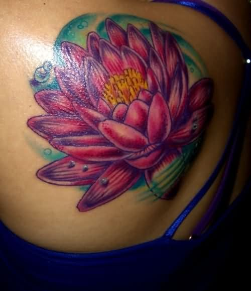 47 lotus in water tattoos designs for Lotus flower tattoo on shoulder
