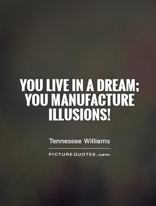 reality and illusion in tennessee williams a Free essay: a streetcar named desire, first published in 1947, is considered a landmark play for the 20th century american drama, bringing author tennessee.