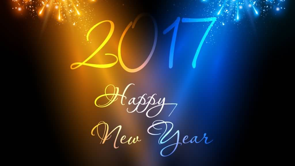 60 Most Beautiful New Year 2017 Wish Pictures