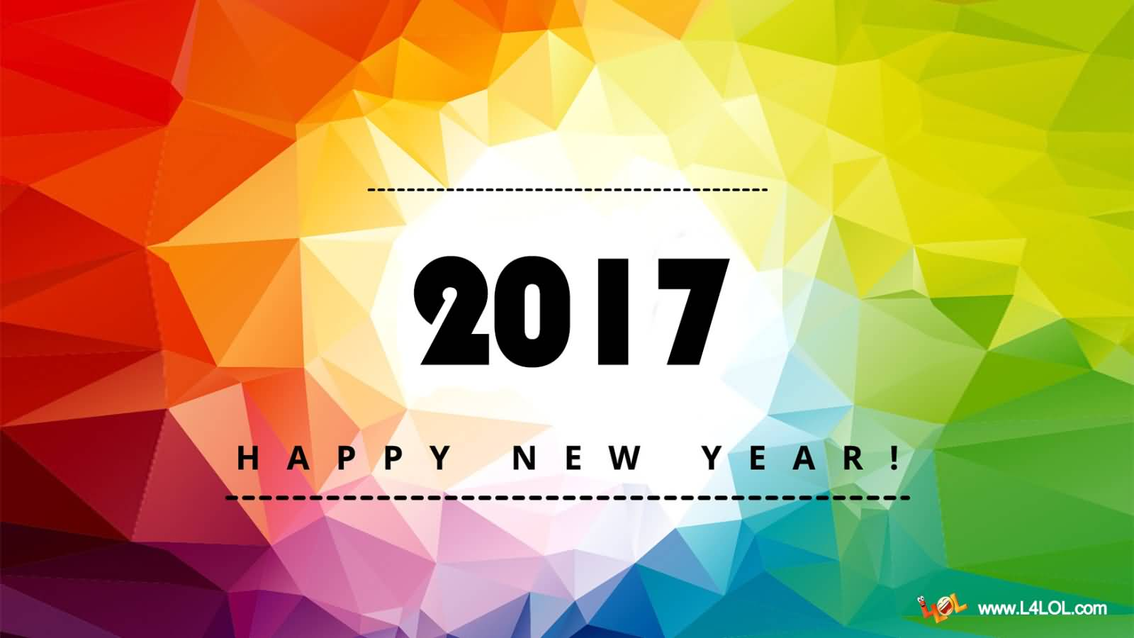 2017 happy new year wishes wallpaper