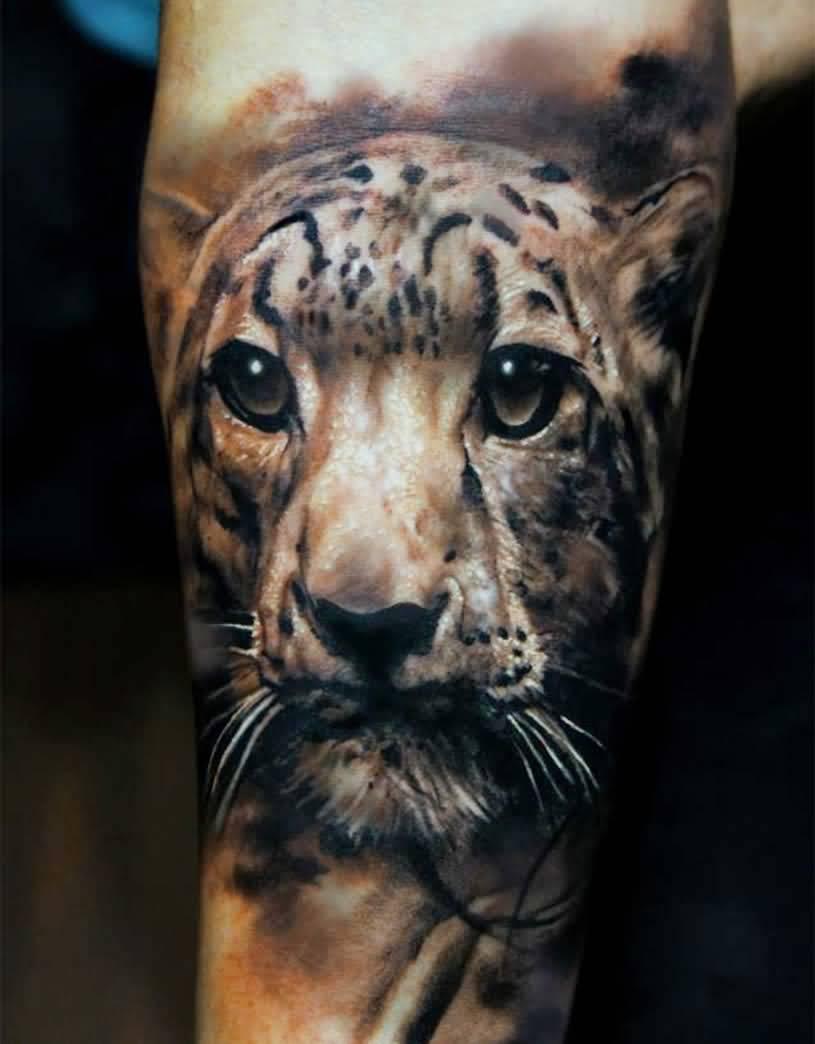 59+ tiger face tattoos, designs & ideas