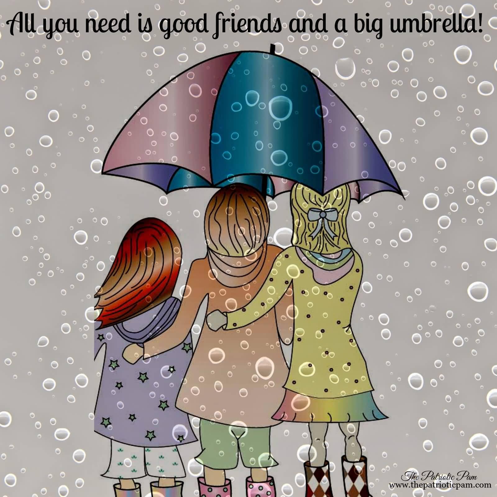 Happy Rainy Day: Happy Umbrella Day Card