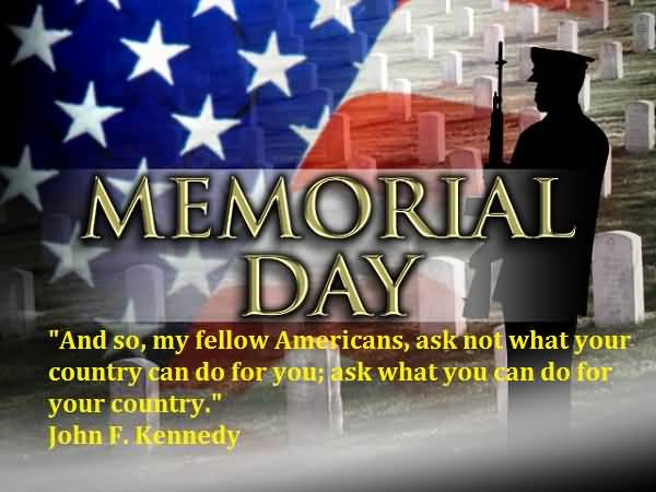 And so my fellow americans ask not what your country can do for you, ask what you can do for your country. John F. Kennedy