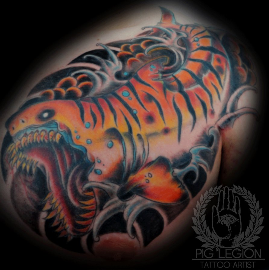 Tiger shark tattoo bad ink - photo#39