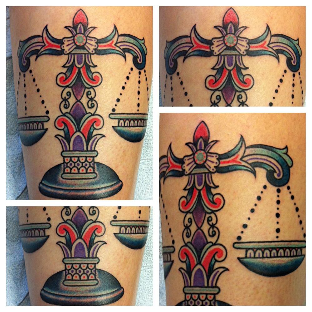 Libra tattoo 17