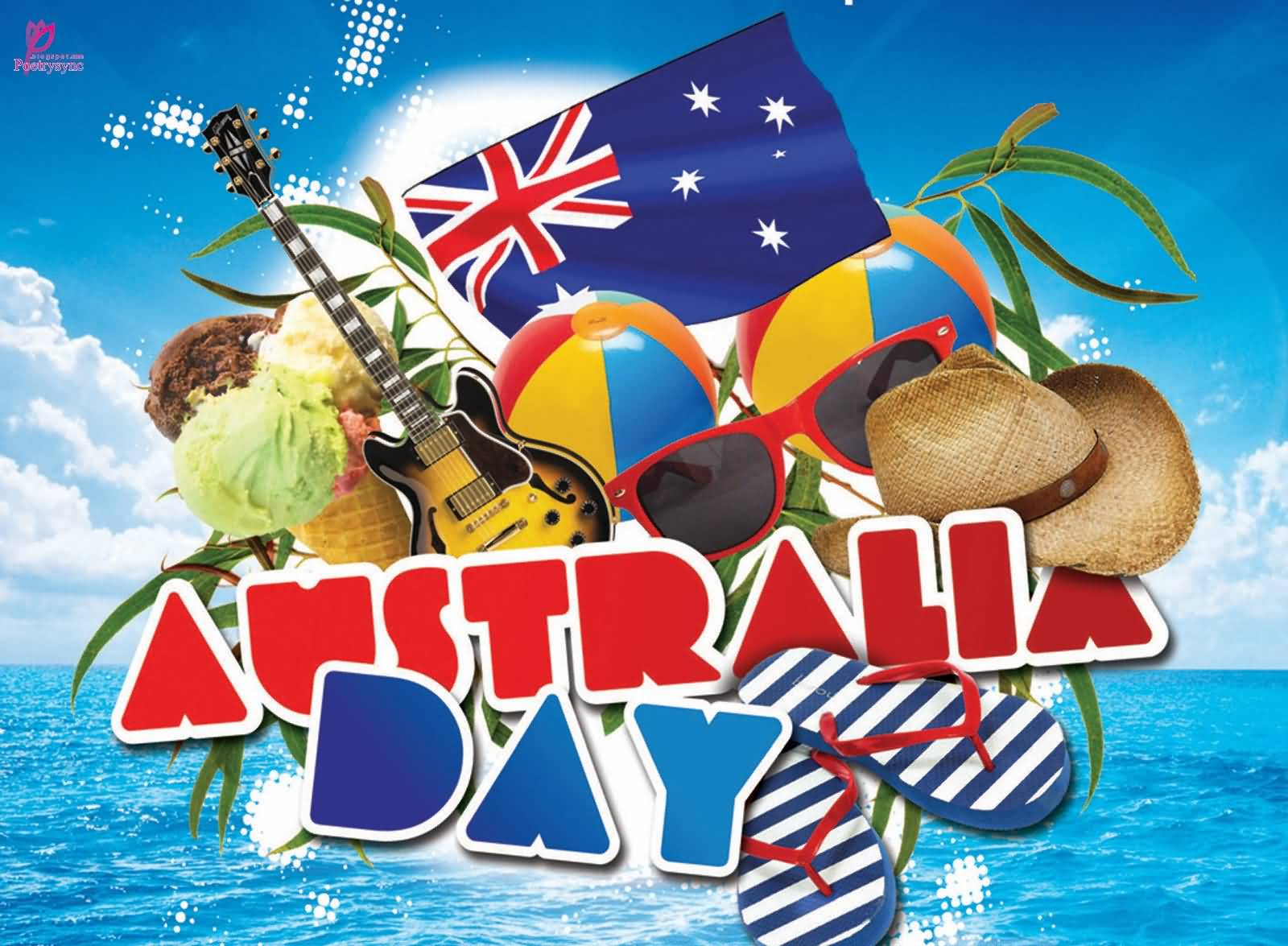 Australia day greetings m4hsunfo