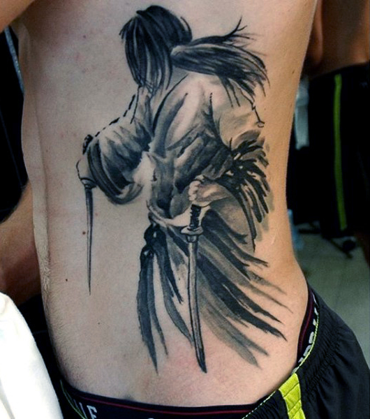 60 samurai tattoos ideas meanings and designs. Black Bedroom Furniture Sets. Home Design Ideas