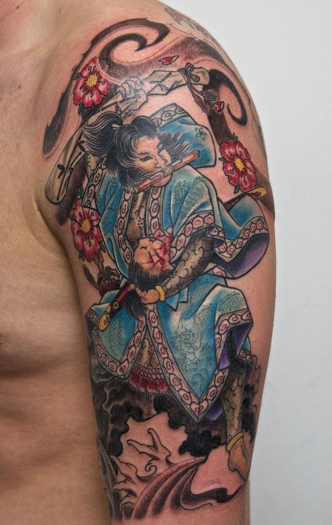 32 traditional samurai tattoos ideas. Black Bedroom Furniture Sets. Home Design Ideas