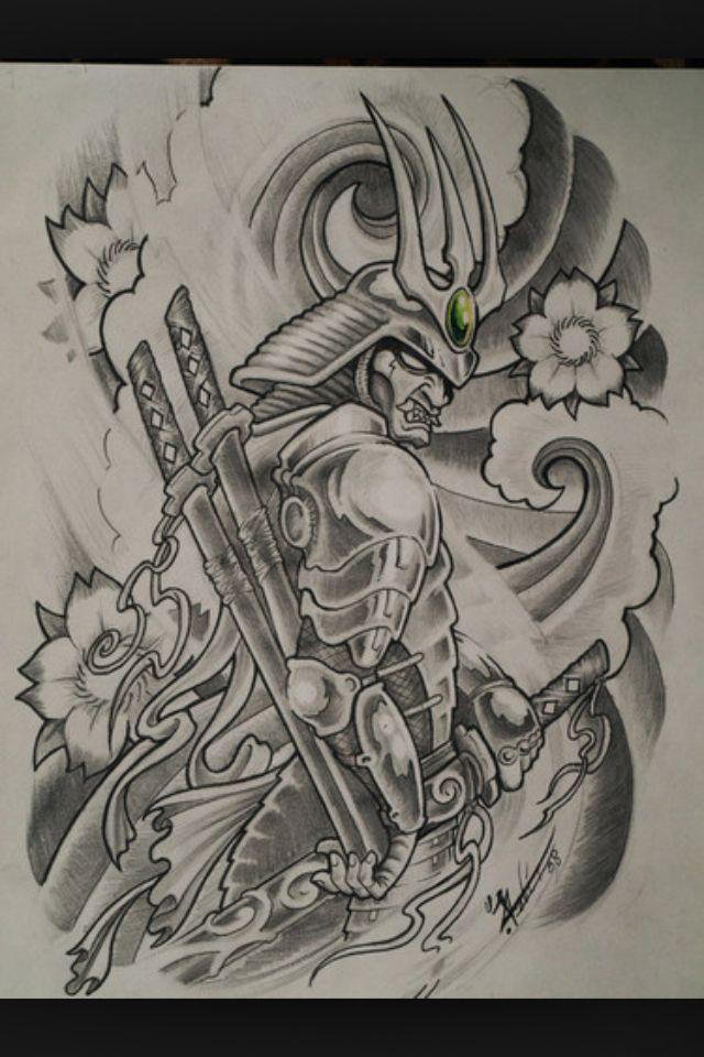 20 samurai tattoos designs and ideas for Dragon and samurai tattoo meaning