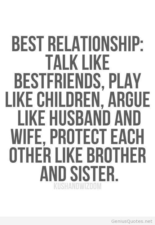 Best Relationship talk like bestfriends, play like children ...