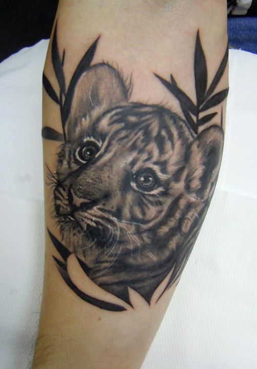 66 black and grey tiger tattoos collection for Tiger tattoo for girl
