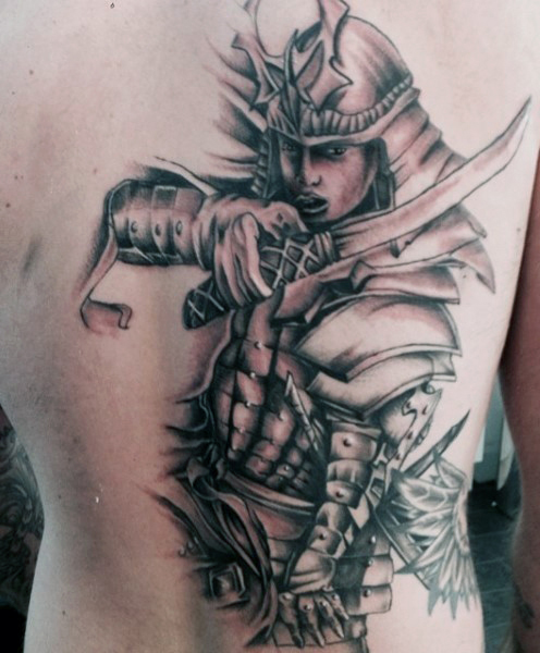43+ Samurai Sword Tattoos With Meanings