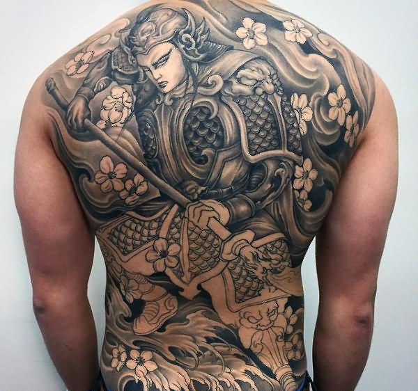 32 traditional samurai tattoos ideas for Traditional black and grey tattoo