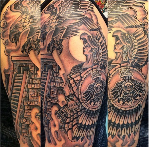 Aztec Warrior Tattoos - Tattoo Collections