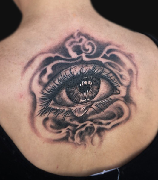 Crying Eye Tattoo Pictures to Pin on Pinterest - TattoosKid