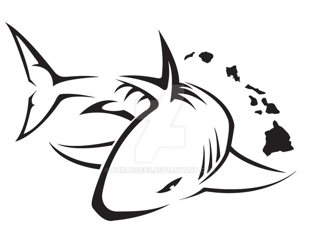 This is a photo of Satisfactory Shark Tattoo Drawing