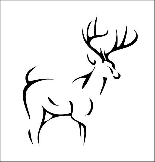 37 tribal deer tattoos ideas and designs