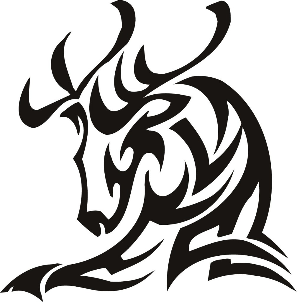 37+ Tribal Deer Tattoos Ideas And Designs