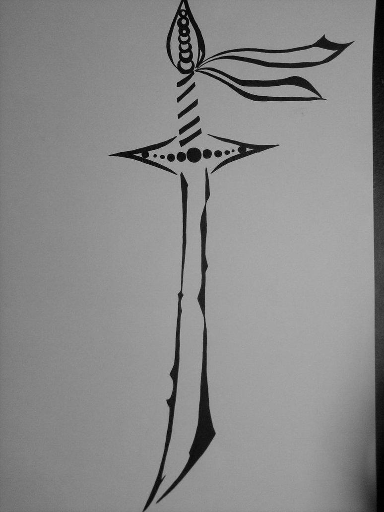 28 samurai swords tattoos designs and stencils for Sword tattoos tumblr
