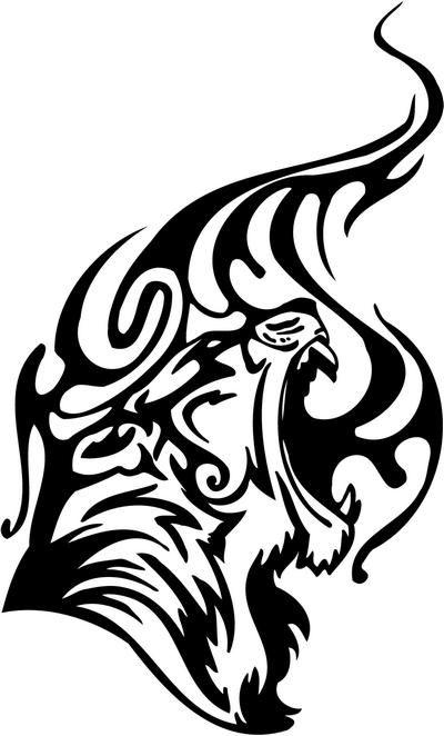 33 tribal tiger tattoos designs and pictures. Black Bedroom Furniture Sets. Home Design Ideas