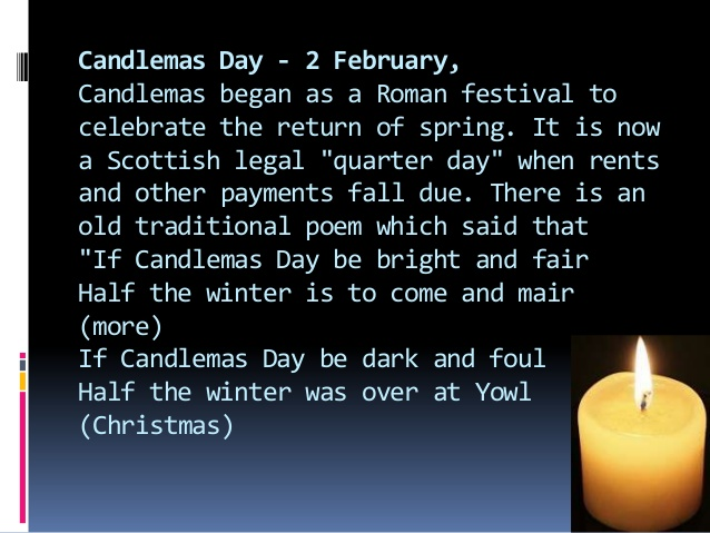 2 February Candlemas Day Presentation Of Jesus In The Temple